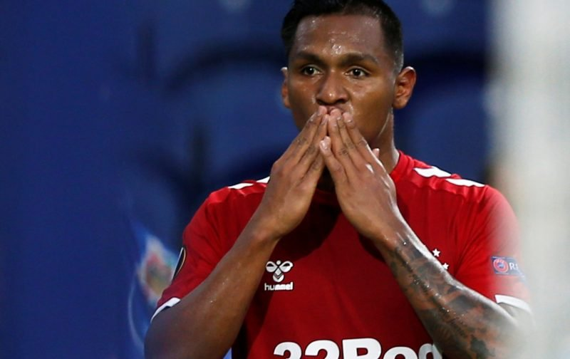 Rangers: These fans mock Odsonne Edouard after Alfredo Morelos' Colombia call-up