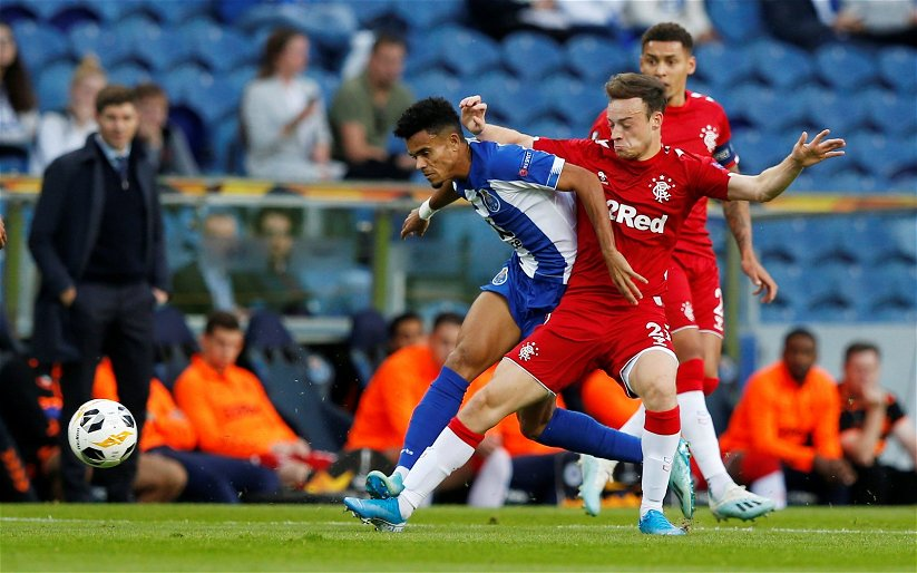 Image for Rangers: Fans discontent with Brandon Barker's performance versus Manchester City
