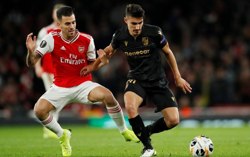 Arsenal: Fans not too bothered with Dani Ceballos injury update