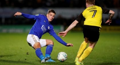 Leicester City: Fans loved Dennis Praet's Twitter message