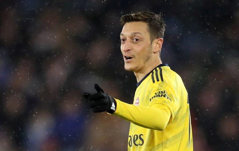 Arsenal: Some fans react to stat involving Mesut Ozil