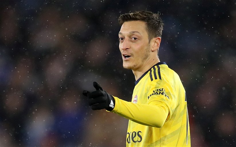 Image for Arsenal: Charles Watts claims there is a possibility of a Mesut Ozil comeback