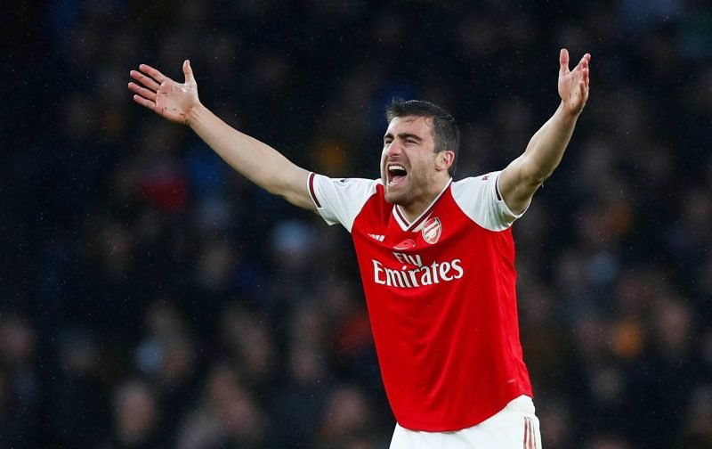 Arsenal: Sokratis' limitations not due to a lack of trying