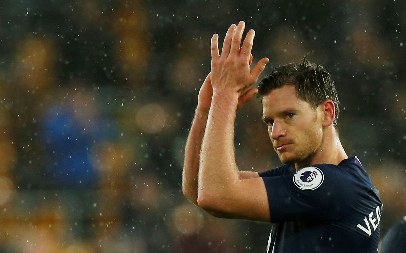 Image for Tottenham: Spurs fans react to possible Vertonghen contract