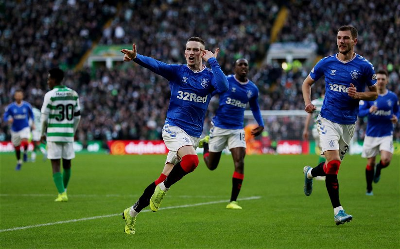 Image for Rangers: These fans love this edited footage of Ryan Kent's Old Firm goal