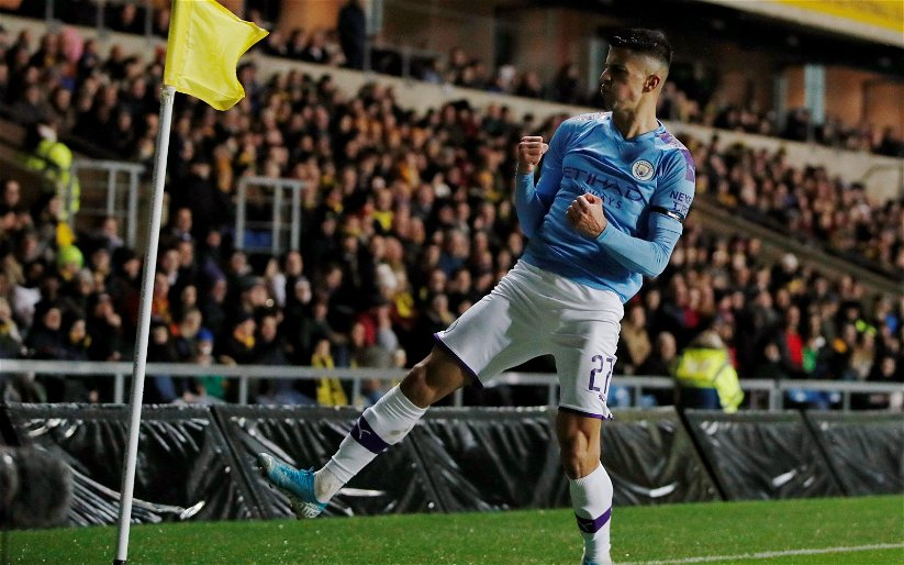 Image for Man City: Fans don't want to see Joao Cancelo to be sold