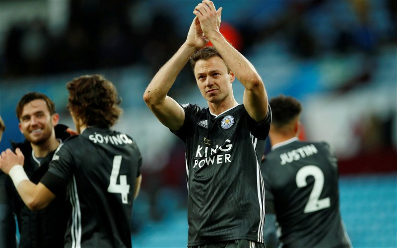 Image for Leicester City: Fans share admiration for Jonny Evans in response to recent match footage
