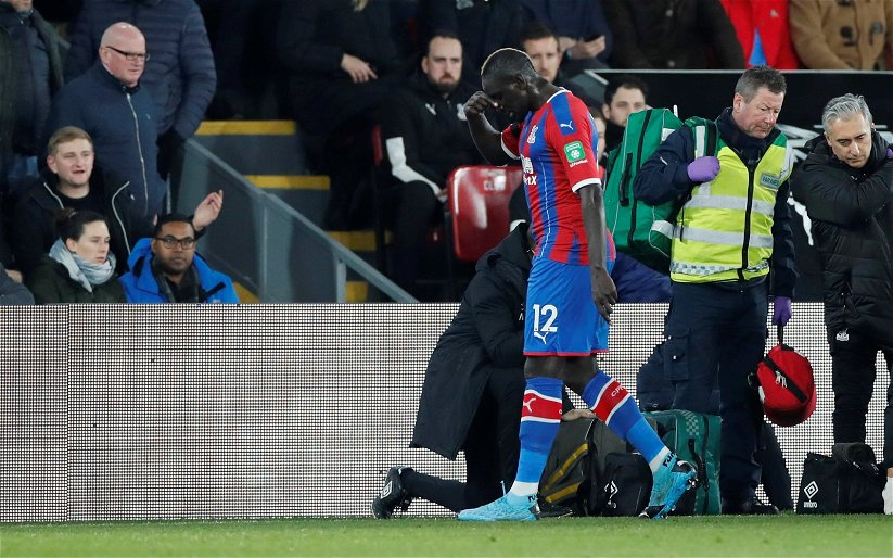 Image for Crystal Palace: Roy Hodgson claims Mamadou Sakho interest is nothing more than talk