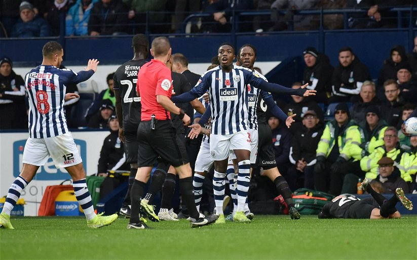 Image for West Brom: Nathan Ferguson move takes surprising turn in London