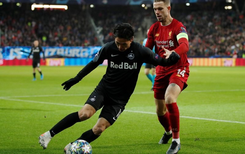 Liverpool: These fans slate Takumi Minamino for midweek performance