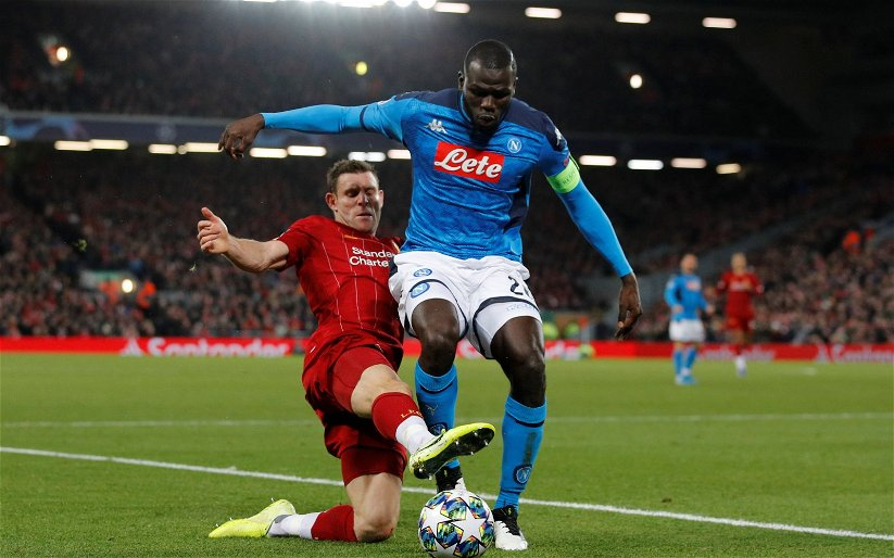 Image for Kalidou Koulibaly was close to joining Manchester City last summer