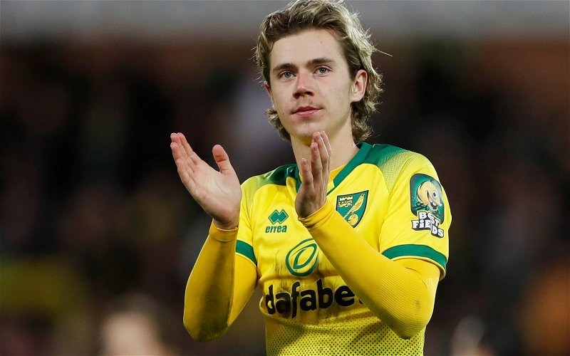 Image for Exclusive: David Norris wants Leeds to sign Norwich winger Todd Cantwell