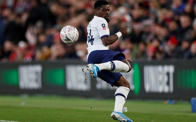 Image for Tottenham: Spurs fans slam Aurier miss