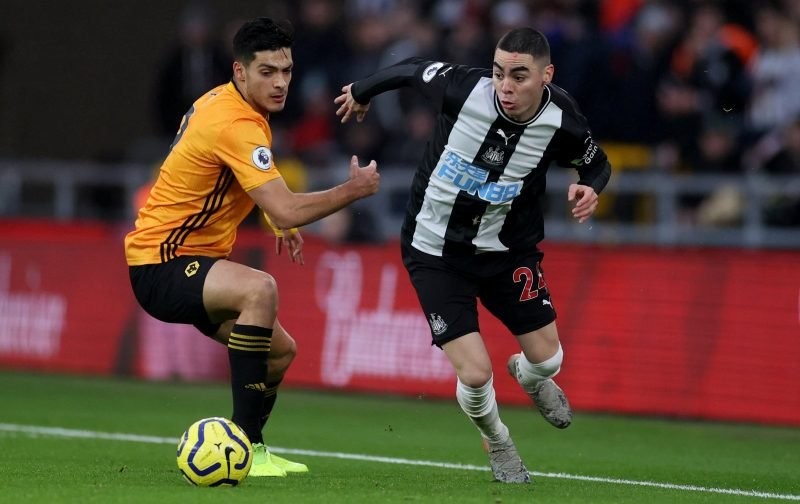Newcastle: Fans react to Almiron footage