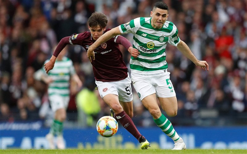 Image for Celtic: Podcaster makes claim about Aaron Hickey