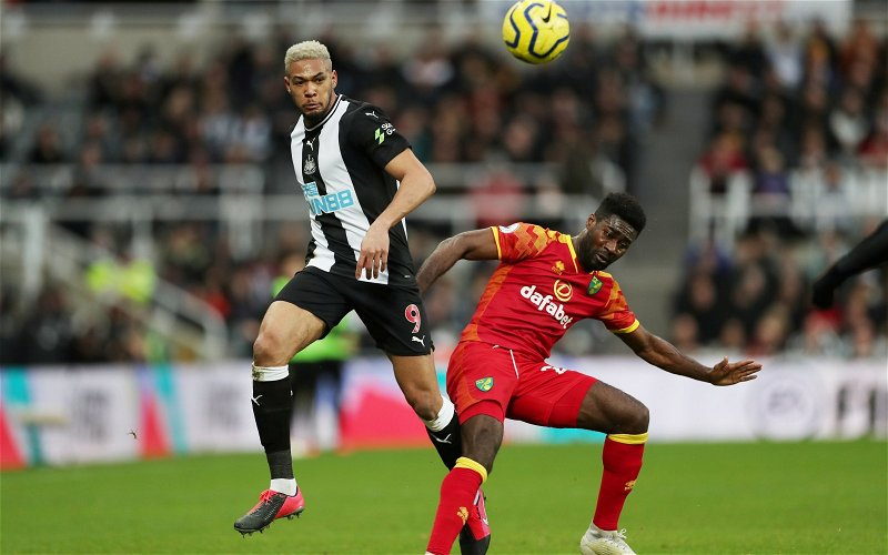 Image for Newcastle: Fans react to Joelinton display