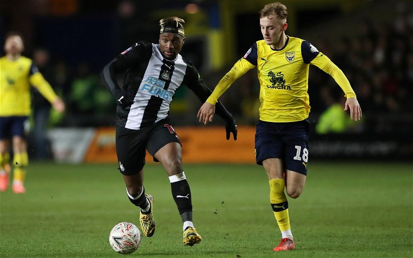 Image for Newcastle: Fans react to Saint-Maximin statistics
