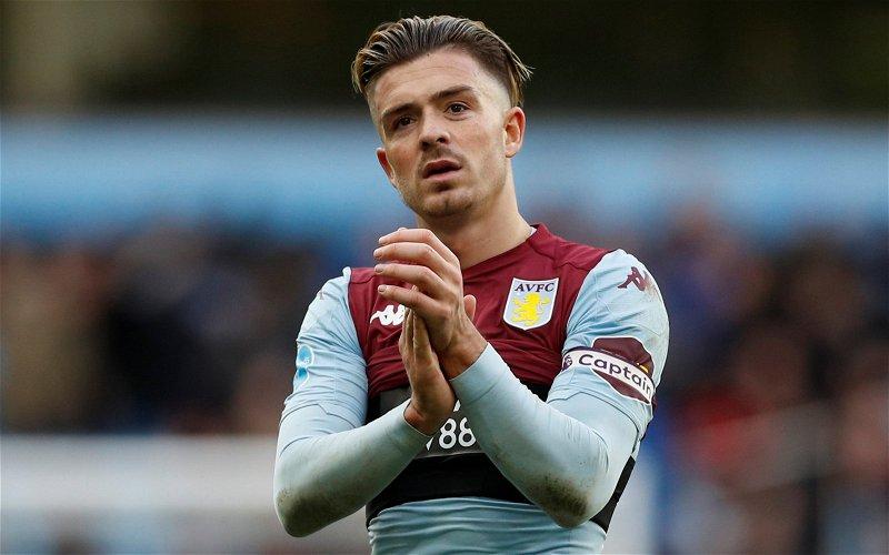 Image for Aston Villa: Dean Jones discusses Jack Grealish's ambitions