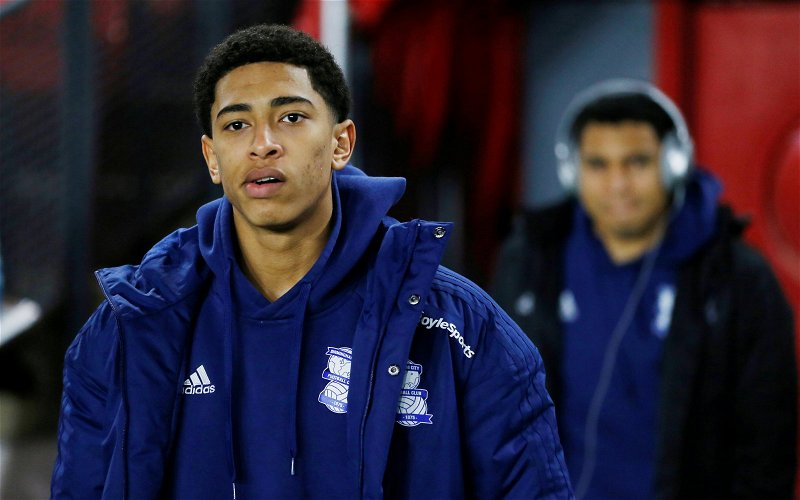 Image for West Brom: Fans 'not convinced' Birmingham City star Jude Bellingham would get into their team