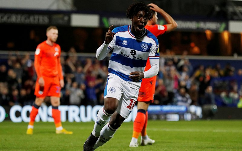 Image for Queens Park Rangers: Fans react to Eberechi Eze's post on Twitter