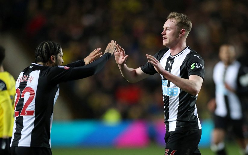 Image for Newcastle United: Chris Waugh discusses Sean Longstaff's future