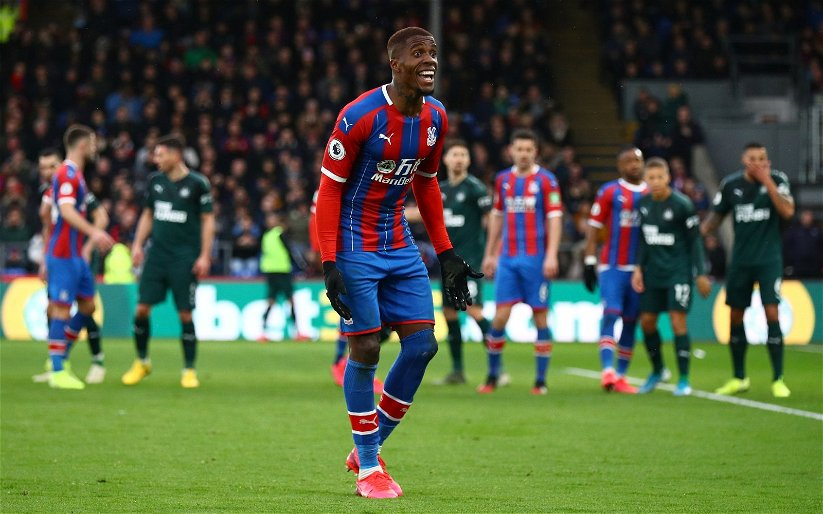 Image for Exclusive: Pundit claims Zaha will have a say on Palace's next manager
