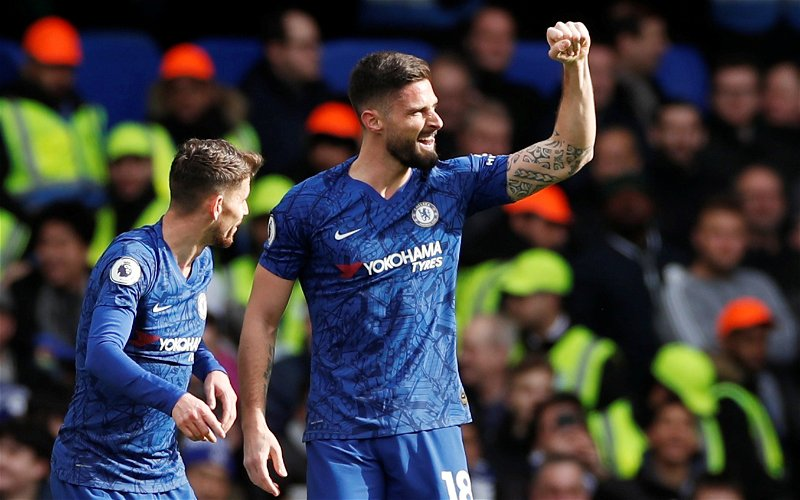 Image for Inkersole: Giroud left Chelsea with best wishes of fans and club