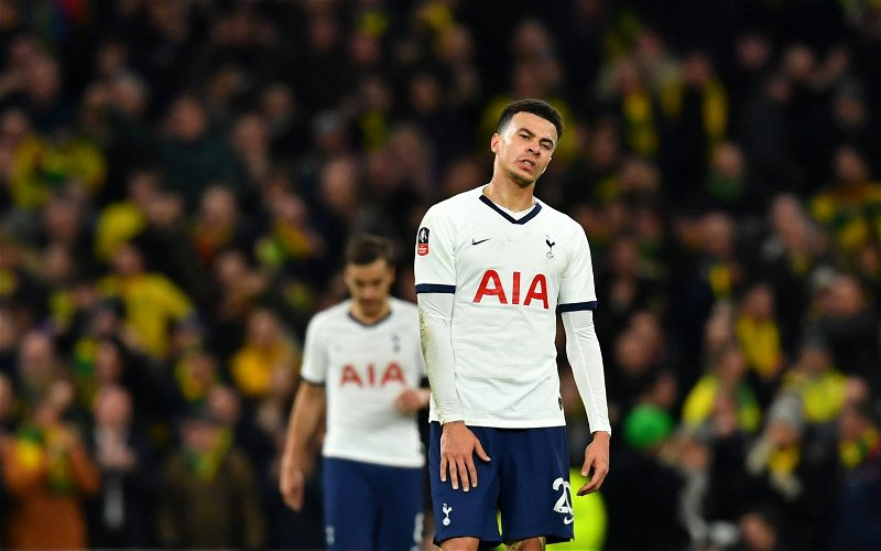 Image for Tottenham Hotspur: Fans react as Charlie Eccleshare shares damning attacking statistics