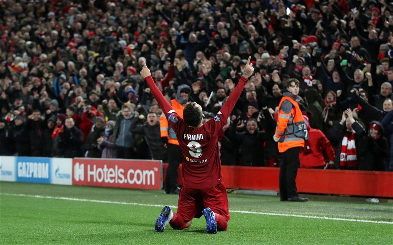 Image for Norris: Firmino recapturing past form would be like a new signing for Liverpool