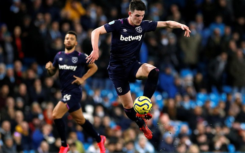 Image for West Ham United: Transfer expert drops latest claim on Rice's future