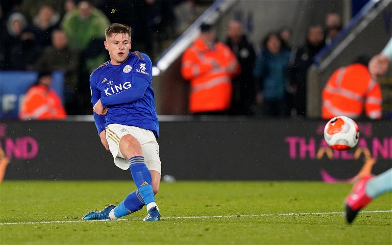 Image for Leicester City: Rob Tanner discusses Harvey Barnes' injury situation