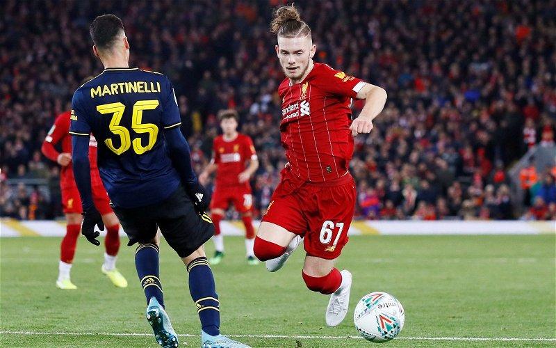 Image for Liverpool: Caoimhe O'Neill discusses Harvey Elliott