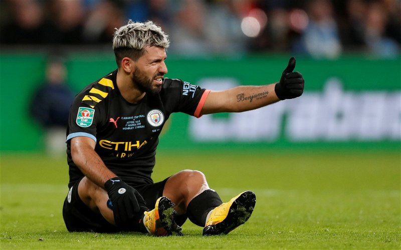 Image for Arsenal: Charles Watts tells Arsenal fans 'not to get their hopes up' regarding Sergio Aguero
