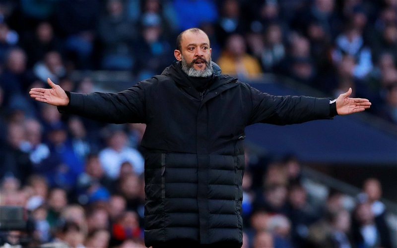 Image for Tottenham Hotspur: Fans left disappointed by Nuno comments