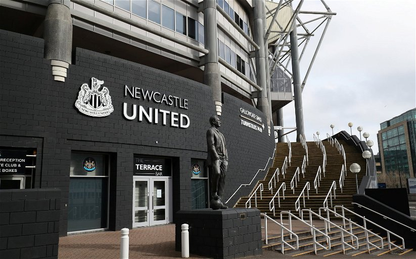 Image for Newcastle United: Steve Wraith discusses Sports Direct advertising at St. James' Park