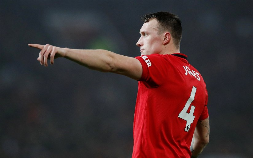 Image for Derby County: Steele drops Phil Jones claim
