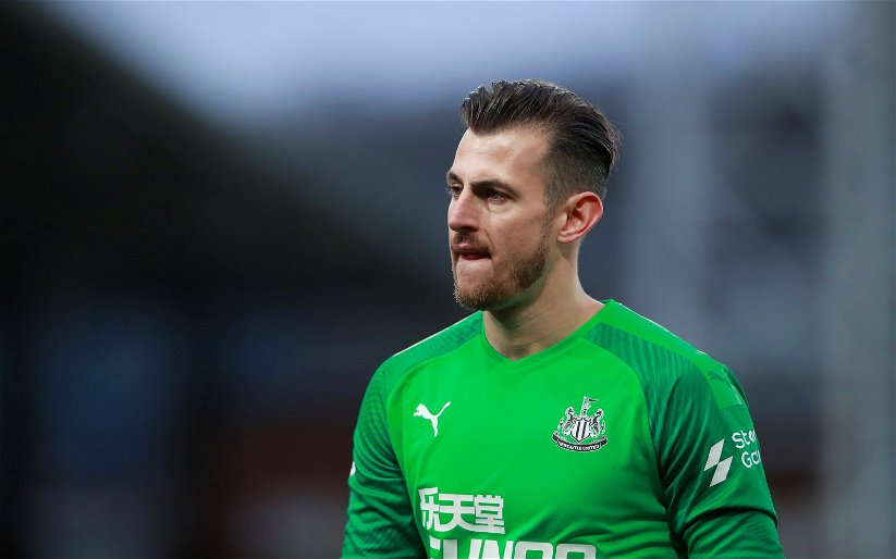 Image for Newcastle United: Many fans delighted as Dubravka returns to training