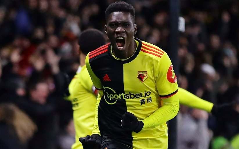 Image for Watford: Alex Crook claims Ismaïla Sarr might be sold in January