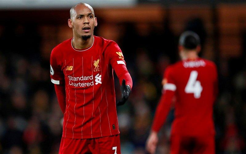 Image for Liverpool: Paul Gorst discusses Fabinho's defensive role