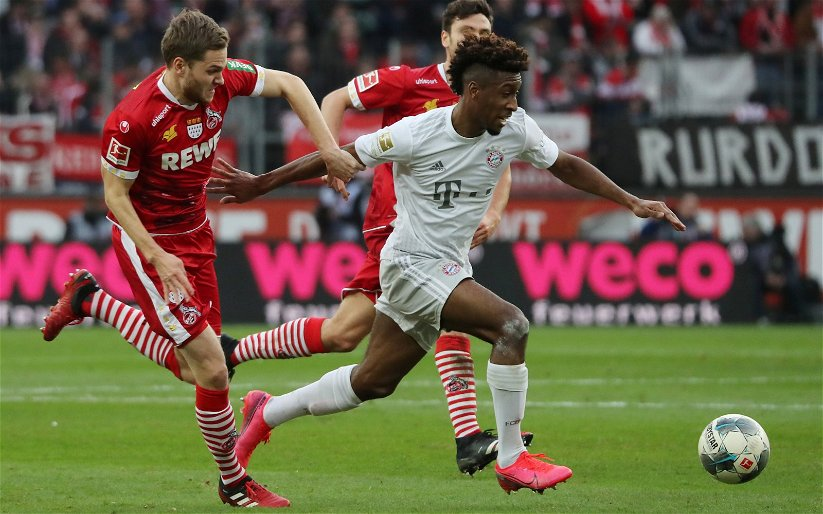 Image for Arsenal: Seb Stafford-Bloor thinks that Kingsley Coman could do well as a Gunner