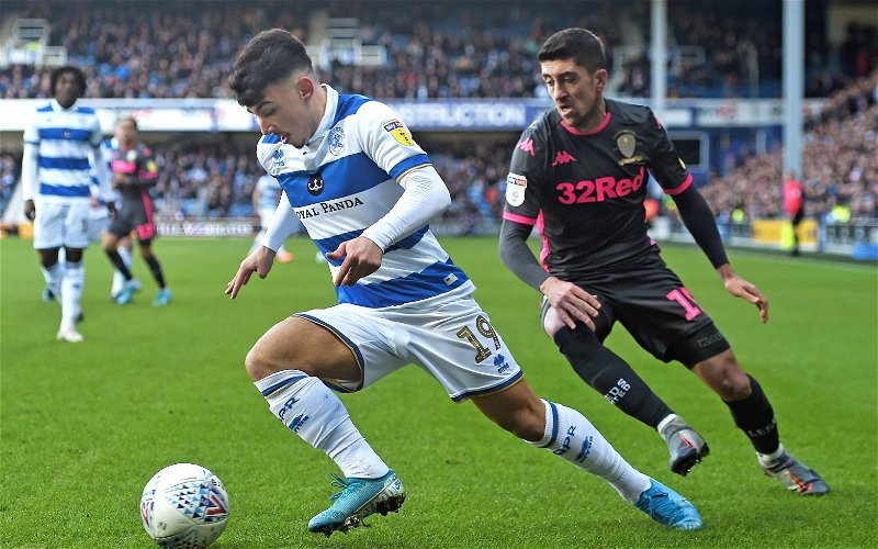 Image for Queens Park Rangers: Podcaster gushes over Ilias Chair