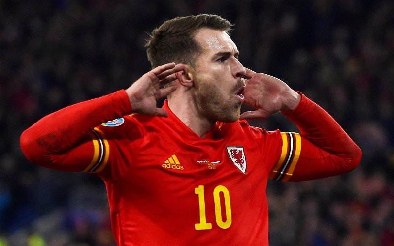 Image for Tottenham Hotspur: Fans react as Aaron Ramsey transfer claim emerges