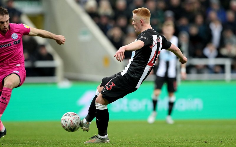 Image for Newcastle United: Fans react to Matty Longstaff contract claims