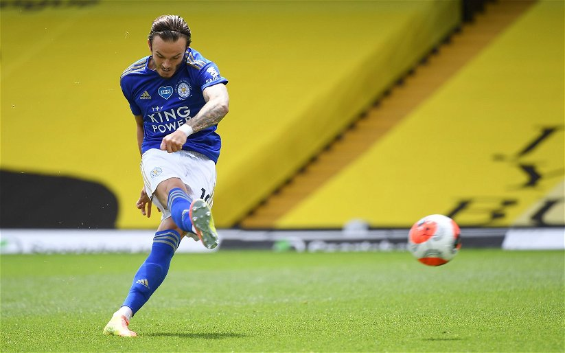 Image for Leicester City: Matthew Upson discusses James Maddison's recent form
