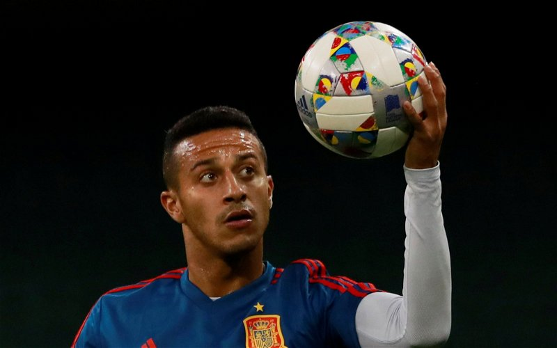 Image for Liverpool: Christian Falk declares that Bayern Munich are 'doing everything to sell' Thiago Alcantara