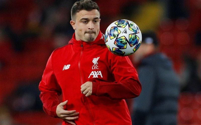 Image for Liverpool: Neil Jones discusses potential Xherdan Shaqiri exit