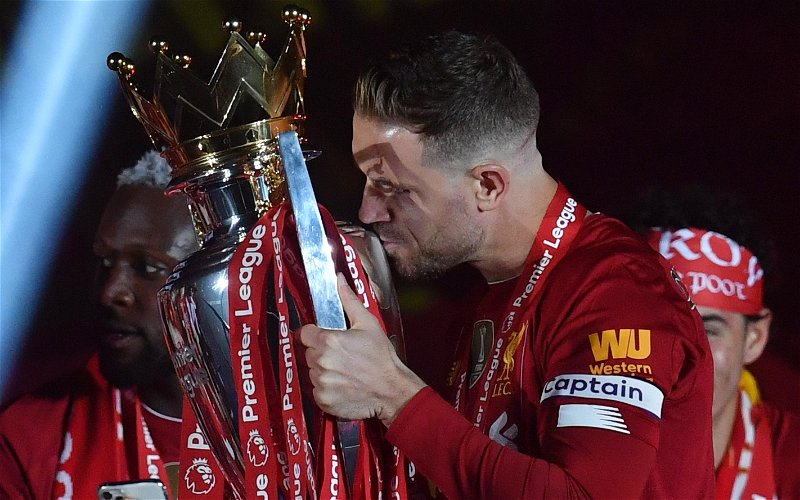 Image for Liverpool: Neil Jones discusses Jordan Henderson's contract situation