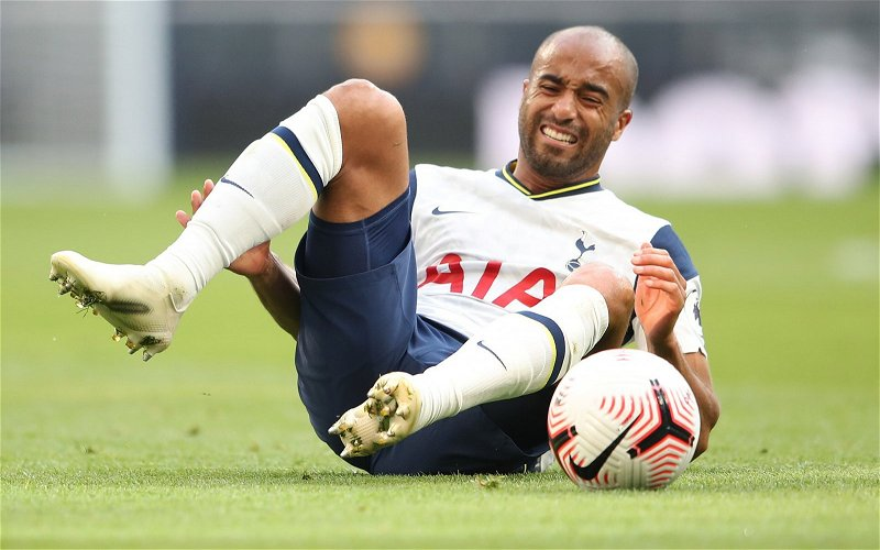 Image for Tottenham Hotspur: Fans react to stats about Lucas Moura