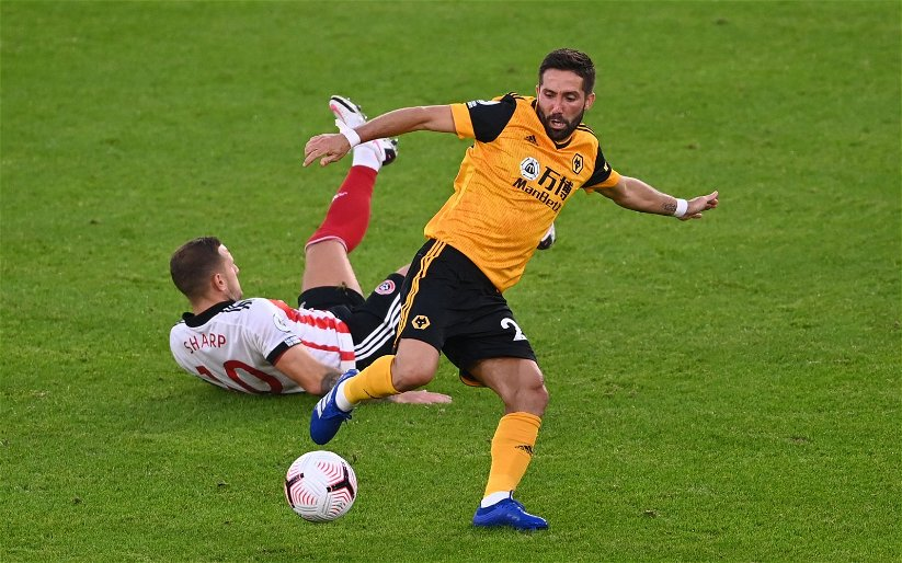 Image for Wolves: Tim Spiers airs some criticism of Joao Moutinho