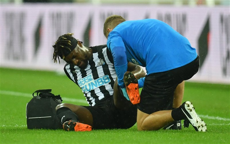 Image for Newcastle United: Many fans fume over latest Saint-Maximin update
